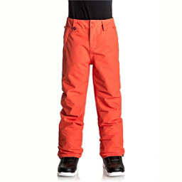 Quiksilver Estate Kids Snowboard Pants, Mandarin Red, 256