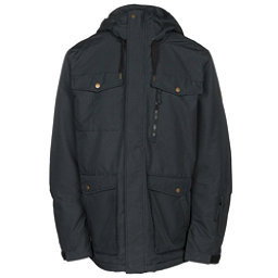 Quiksilver Raft Mens Insulated Snowboard Jacket, Black, 256