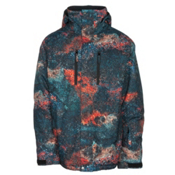 Quiksilver TR Mission Printed Mens Insulated Snowboard Jacket, , medium