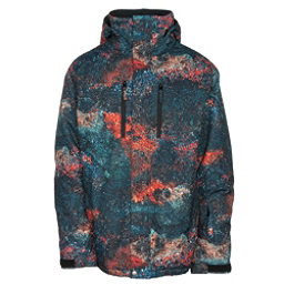 Quiksilver TR Mission Printed Mens Insulated Snowboard Jacket, , 256