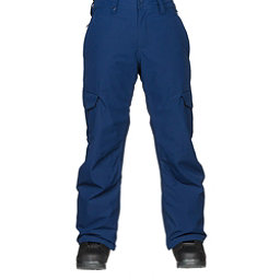 Quiksilver Porter Mens Snowboard Pants, Estate Blue, 256
