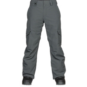 Quiksilver Porter Mens Snowboard Pants, Dark Shadow, medium
