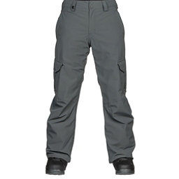 Quiksilver Porter Mens Snowboard Pants, Dark Shadow, 256