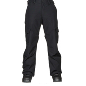 Quiksilver Porter Mens Snowboard Pants, Black, medium