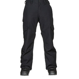 Quiksilver Porter Mens Snowboard Pants, Black, 256