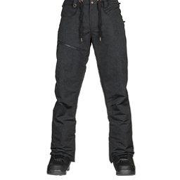 Quiksilver Forest Oak Mens Snowboard Pants, Black, 256