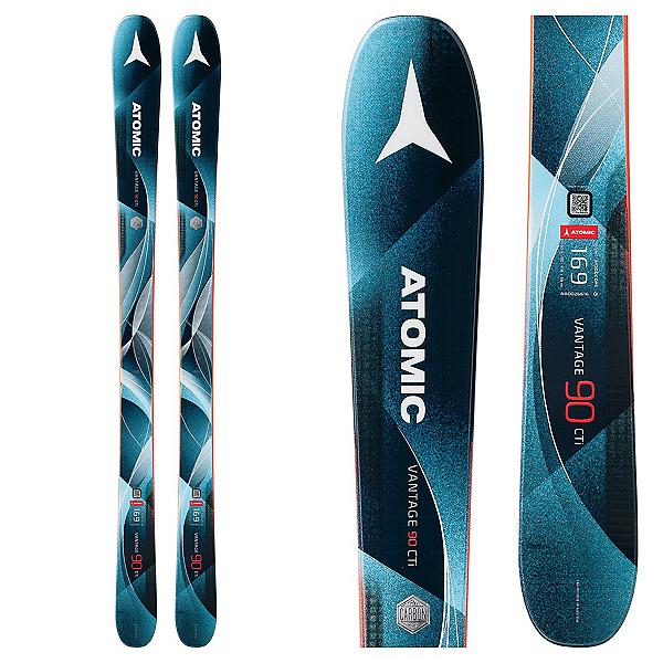 Atomic Vantage 90 CTI W Womens Skis 2018, , 600