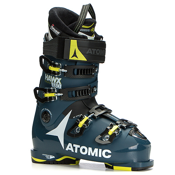 Atomic Hawx Magna 130 Ski Boots 2018, Dark Blue-Lime-Black, 600