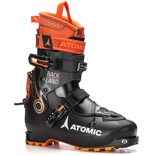 Atomic Backland Carbon Alpine Touring Boots 2018, Black-Anthracite-Orange, 600