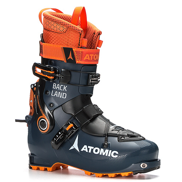 Atomic Backland Alpine Touring Boots 2018, Dark Blue-Orange-Black, 600