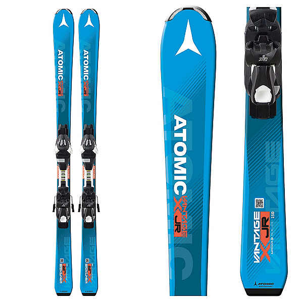 Atomic Vantage Jr. II Kids Skis with C 5 Bindings 2018, , 600