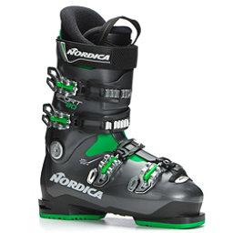 Nordica Sportmachine 80 Ski Boots 2018, Black-Anthracite-Green, 256