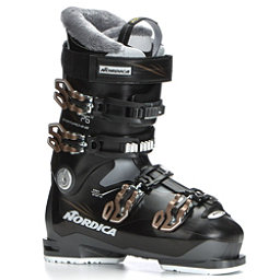 Nordica Sportmachine 75 W Womens Ski Boots 2018, Anthracite-Black-Bronze, 256