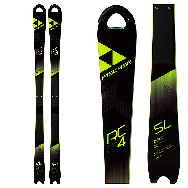 Fischer RC4 Worldcup SL Jr. WCP Junior Race Skis 2018, , 600