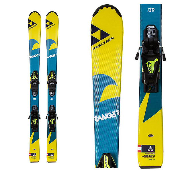Fischer Ranger Kid Kids Skis with FJ4 Bindings 2018, , 600