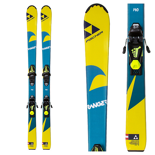 Fischer Ranger Kid Kids Skis with FJ7 Bindings 2018, , 600