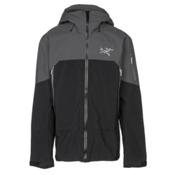 Arc'teryx Rush Mens Shell Ski Jacket, Black Pilot, medium