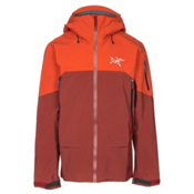 Arc'teryx Rush Mens Shell Ski Jacket, Vesuvius, medium