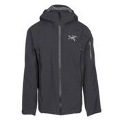 Arc'teryx Sabre Mens Shell Ski Jacket, Black, medium