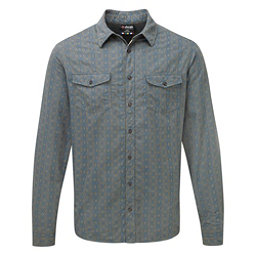 Sherpa Surya Long Sleeve Mens Shirt, Monsoon Grey, 256