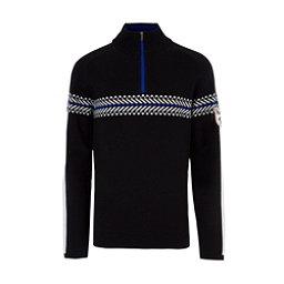 Meister Alex Mens Sweater, Black-Winter White, 256
