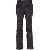 686 Gossip Softshell Womens Snowboard Pants, Camo Rose Print, medium