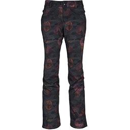 686 Gossip Softshell Womens Snowboard Pants, Camo Rose Print, 256