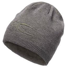 KJUS Turn Hat, Dark Grey Melange-Lime Green, 256