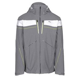 KJUS Speed Reader Mens Insulated Ski Jacket, Steel Grey, 256