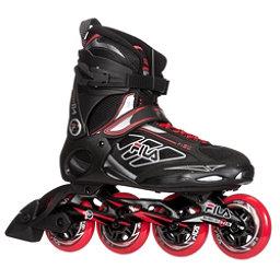 Fila Skates Primo ALU 84 Inline Skates 2017, Black-Red, 256