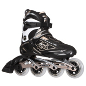 Fila Skates Primo ALU 84 Lady Womens Inline Skates 2017, Black-Gold, medium