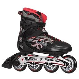 Fila Skates Argon 84 Inline Skates 2017, Black-Red, 256