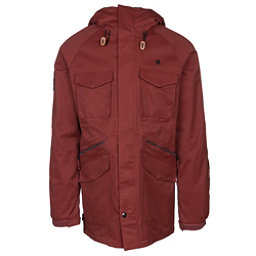 ThirtyTwo Warsaw Mens Insulated Snowboard Jacket, Oxblood, 256