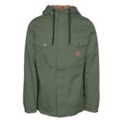ThirtyTwo Bronson Mens Insulated Snowboard Jacket, Forrest, medium