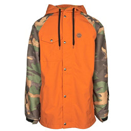 ThirtyTwo Knox Mens Shell Snowboard Jacket, Burnt Orange, 256
