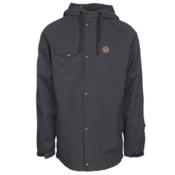 ThirtyTwo Knox Mens Shell Snowboard Jacket, Black, medium