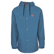 ThirtyTwo Knox Mens Shell Snowboard Jacket, Blue, medium
