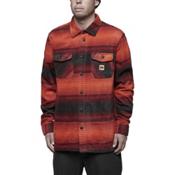 ThirtyTwo Reststop Polar Fleece Mens Shirt, Oxblood, medium