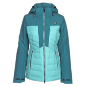 Orage Jasmine Womens Insulated Ski Jacket, Seal Blue, medium