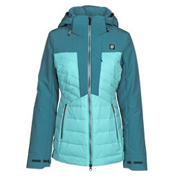 Orage Jasmine Womens Insulated Ski Jacket, Seal Blue, 256