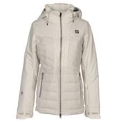 Orage Jasmine Womens Insulated Ski Jacket, Polar White, medium