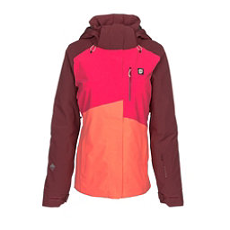 Orage Nina Womens Insulated Ski Jacket, Coralline, 256