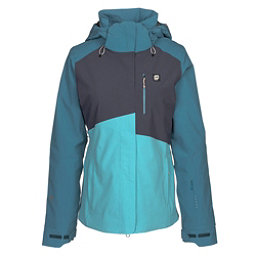 Orage Nina Womens Insulated Ski Jacket, Cyan, 256