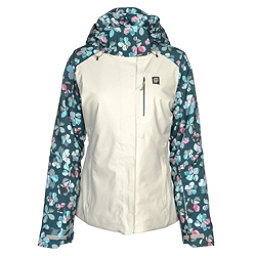 Orage Nina Womens Insulated Ski Jacket, Flower Quilt, 256