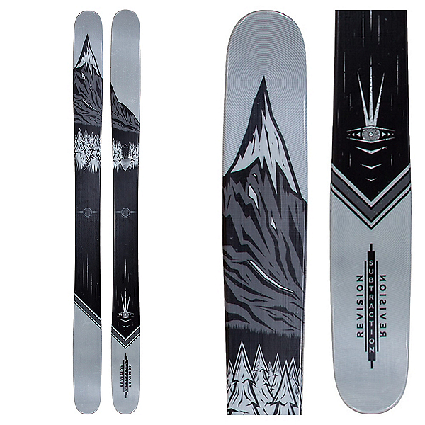 Revision Subtraction Skis, Og, 600