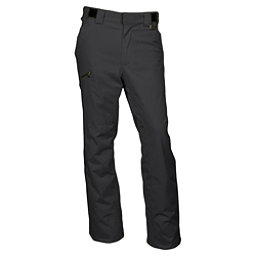 Karbon Silver Trim Short Mens Ski Pants, Black-Black, 256