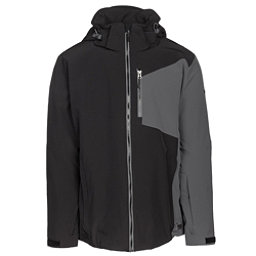 Karbon Radar Mens Insulated Ski Jacket, Black-Charcoal-Charcoal-Black, 256
