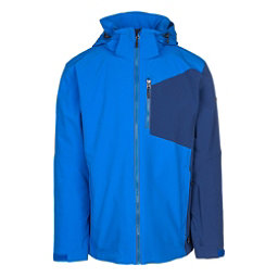 Karbon Radar Mens Insulated Ski Jacket, Blue-Navy-Navy-Blue, 256