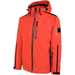 Karbon Apollo Mens Insulated Ski Jacket, Fire-Black-Arctic White-Black, 256