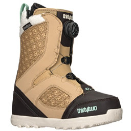 ThirtyTwo STW Boa Womens Snowboard Boots 2018, Tan-Black, 256